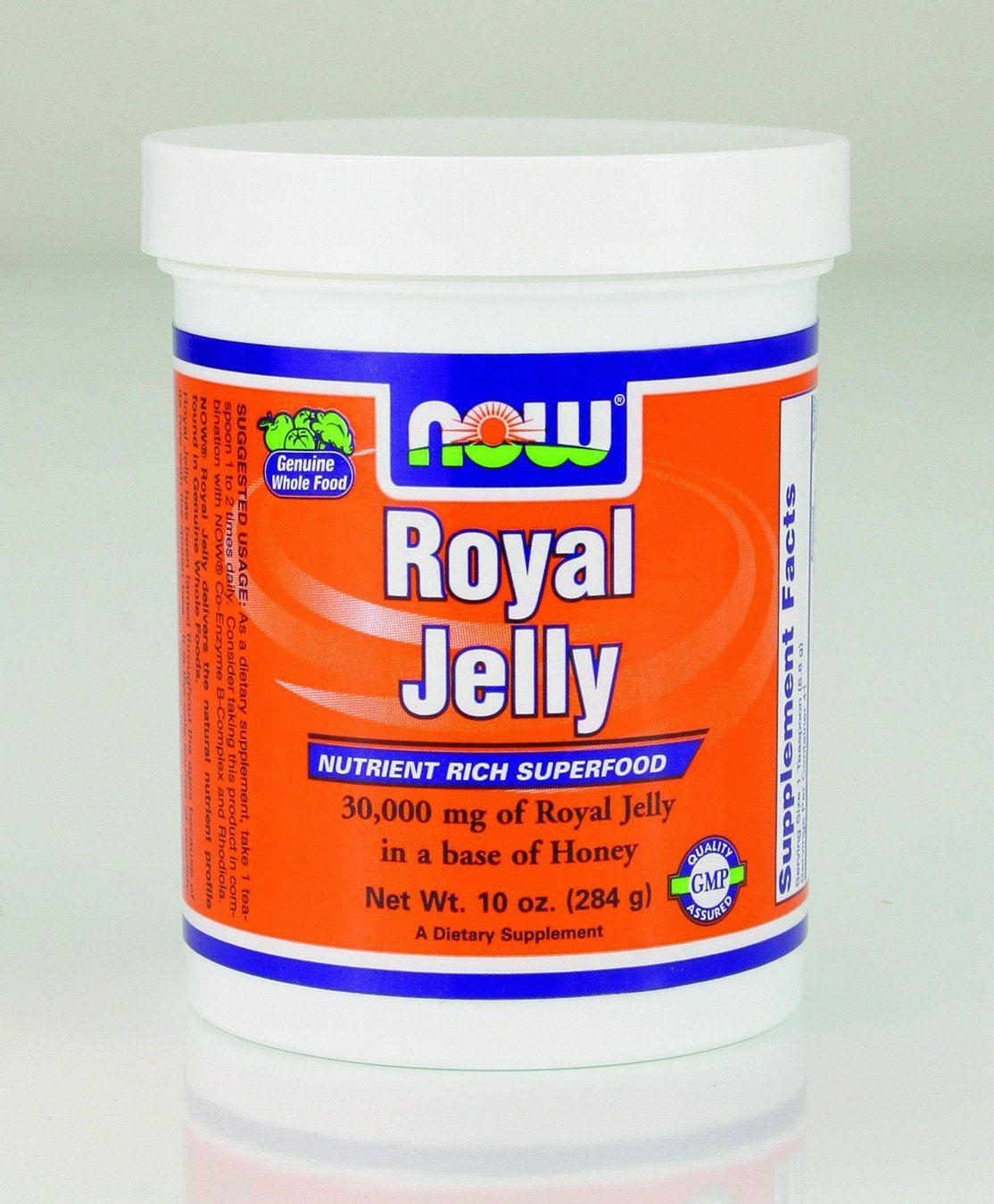 Supplements & Vitamins - NOW - Fresh Royal Jelly, 10oz