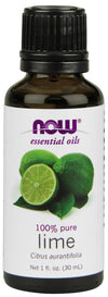 Supplements & Vitamins - NOW - Lime Essential Oil, 30ml