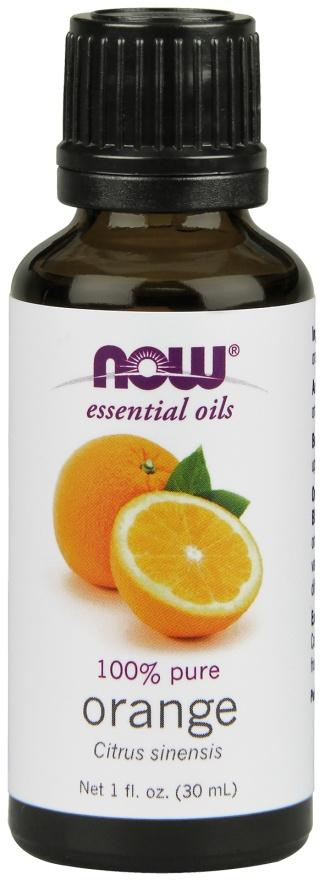 Supplements & Vitamins - NOW - Orange Essential Oil, 30ml