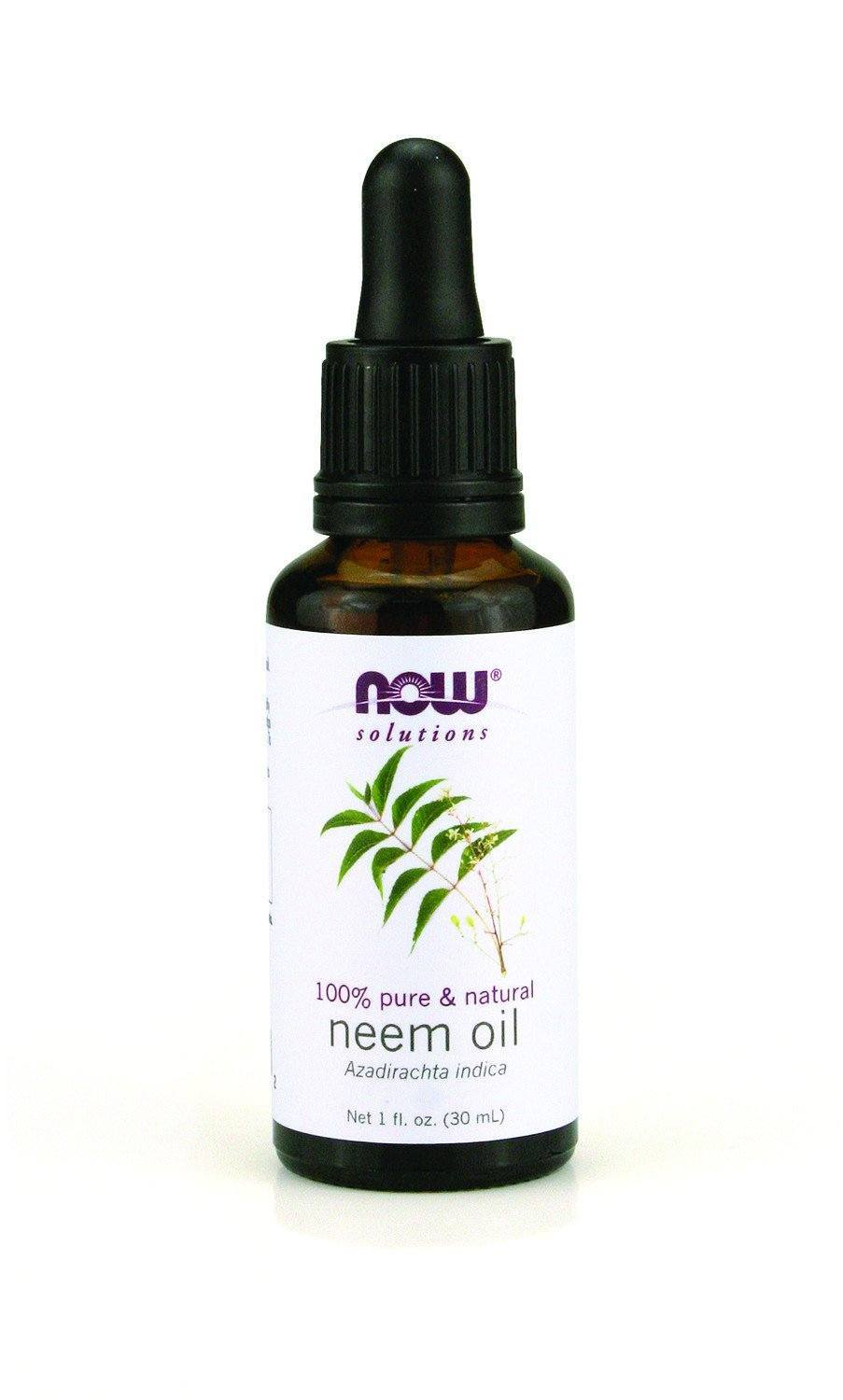 Supplements & Vitamins - NOW - Pure Neem Essential Oil, 30ml