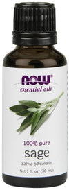 Supplements & Vitamins - NOW - Sage Essential Oil, 30ml