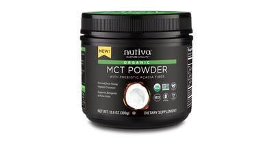 Supplements & Vitamins - Nutiva - Organic MCT Powder, 300g