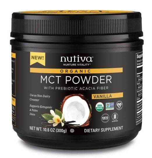 Supplements & Vitamins - Nutiva - Vanilla MCT Powder, 300g