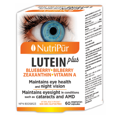 Supplements & Vitamins - NutriPur - Lutein Plus, 60 VCAPS