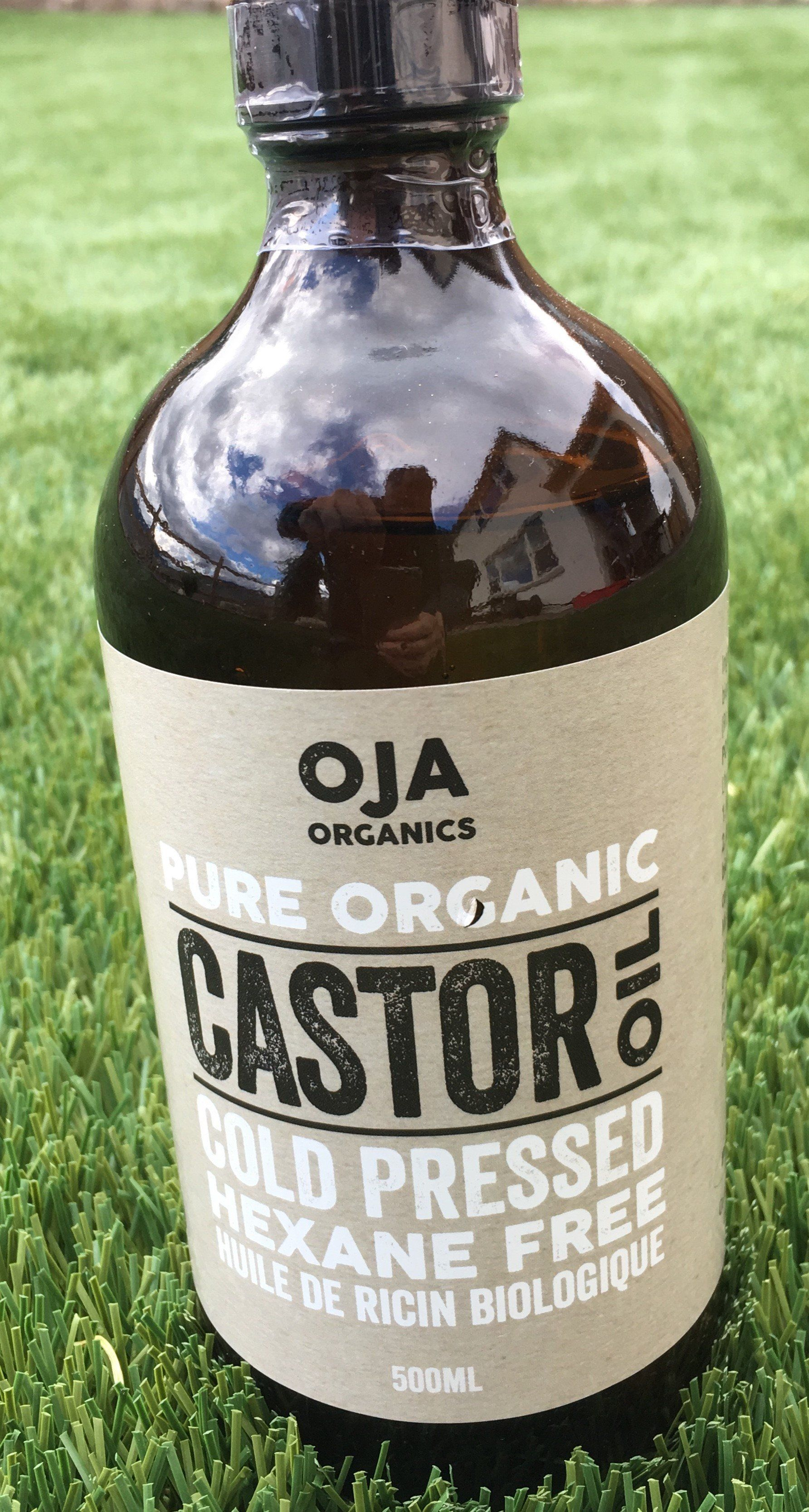 Supplements & Vitamins - Oja - Organic Castor Oil, 500mL