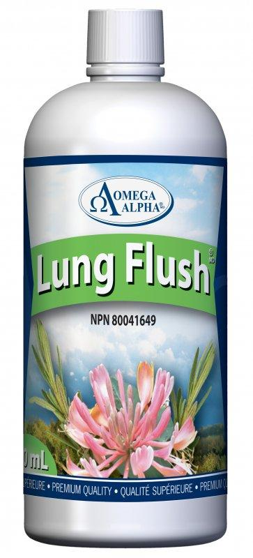 Supplements & Vitamins - Omega Alpha - Lung Flush - 500ML.