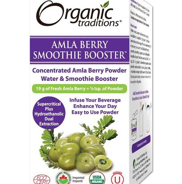 Supplements & Vitamins - Organic Traditions - Smoothie Booster Amla - 33g