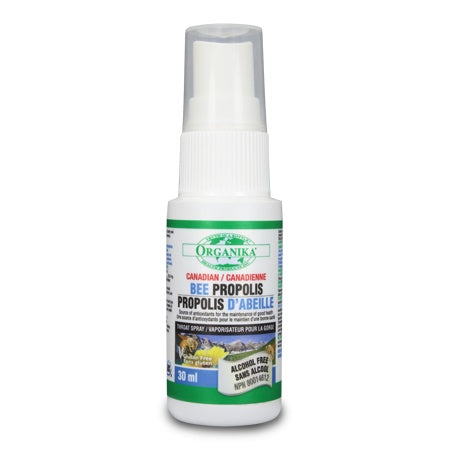 Supplements & Vitamins - Organika - Bee Propolis Spray A/f - 30ml