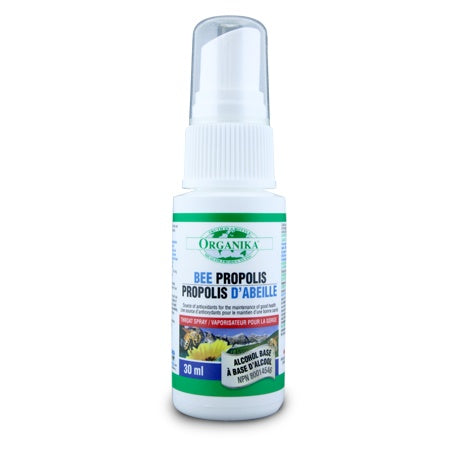 Supplements & Vitamins - Organika - Bee Propolis W/ Alcohol - 30ml