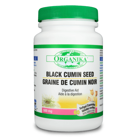 Supplements & Vitamins - Organika - Black Cumin Seed Oil - 60 Softgels
