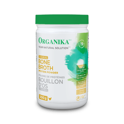 Supplements & Vitamins - Organika - Bone Broth Protein Powder, 300g