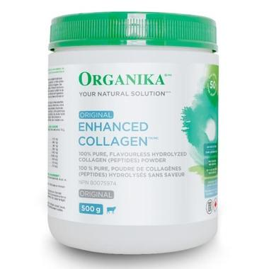 Supplements & Vitamins - Organika - Enhanced Collagen - 500g