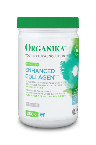 Supplements & Vitamins - Organika - Enhanced Collagen Vitality, 250g