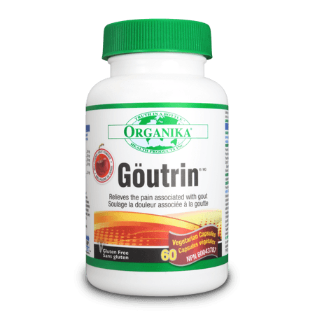 Supplements & Vitamins - Organika - Goutrin - 60 Caps
