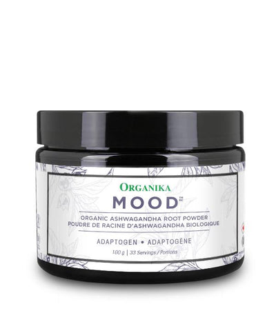 Supplements & Vitamins - Organika - Mood - Ashwagandha Powder, 100g