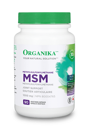 Supplements & Vitamins - Organika - Msm - 90 Caps