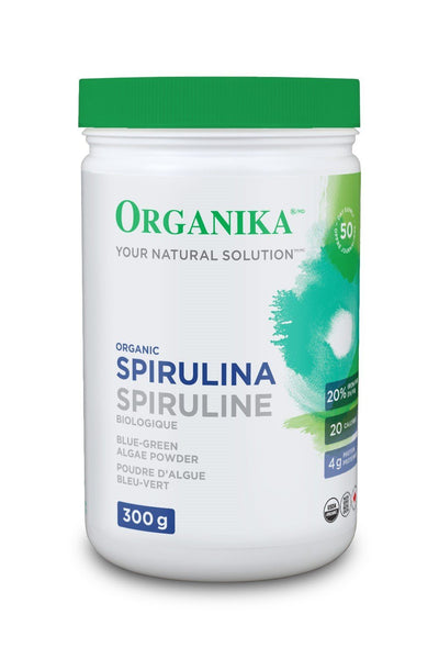 Supplements & Vitamins - Organika - Spirulina Powder, 300g