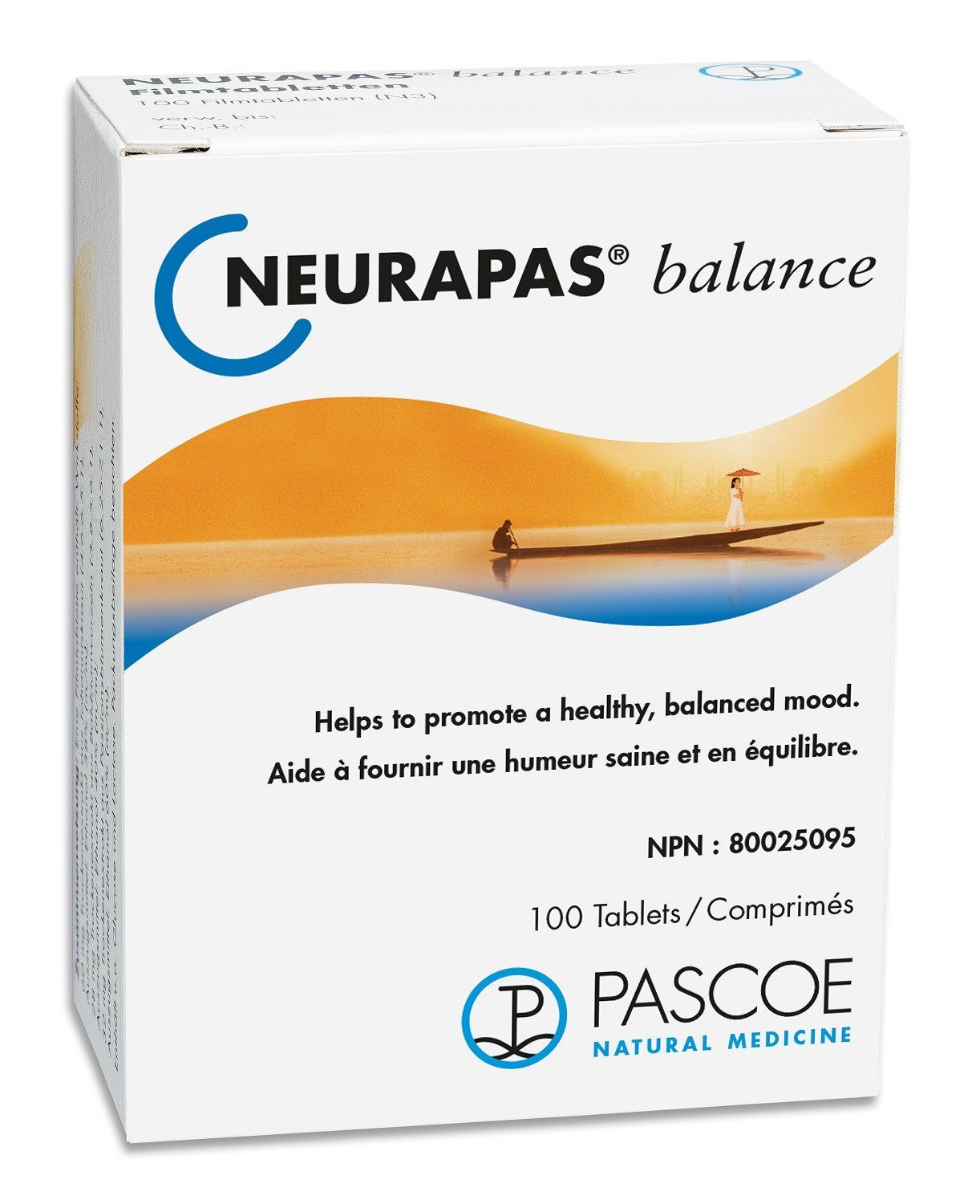 Supplements & Vitamins - Pascoe - Neurapas, 100 Tabs