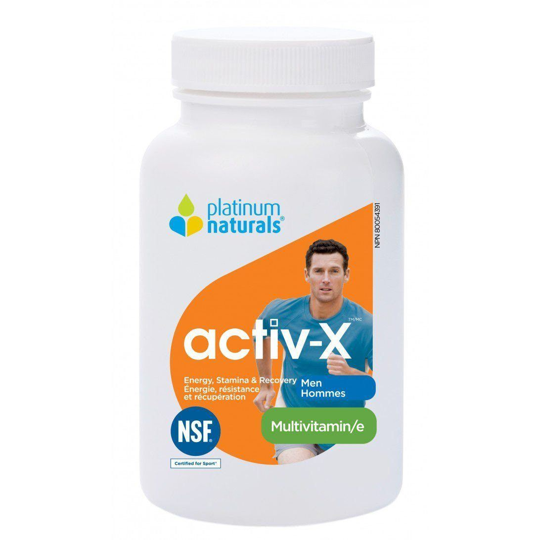 Supplements & Vitamins - Platinum - Activ-X For Men, 60 Caps