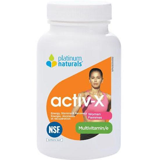 Supplements & Vitamins - Platinum - Activ-X For Women, 60 Caps
