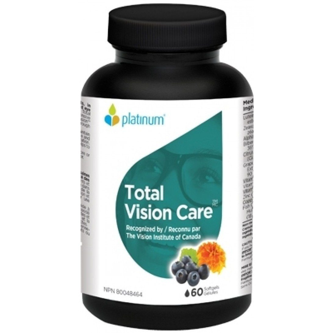 Supplements & Vitamins - Platinum - Total Vision Care, 60 Caps