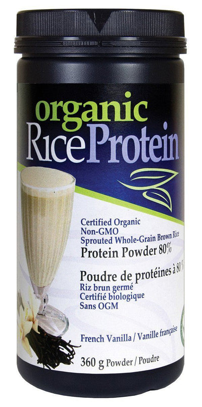 Supplements & Vitamins - Prairie Naturals - Brown Rice Protein French Vanilla, 360g