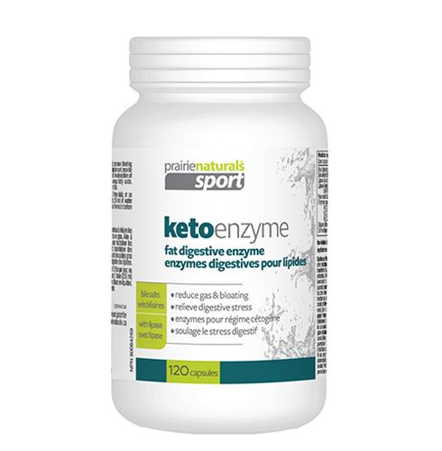 Supplements & Vitamins - Prairie Naturals - KetoEnzyme Fat Digesting Enzyme, 120 VCAPS