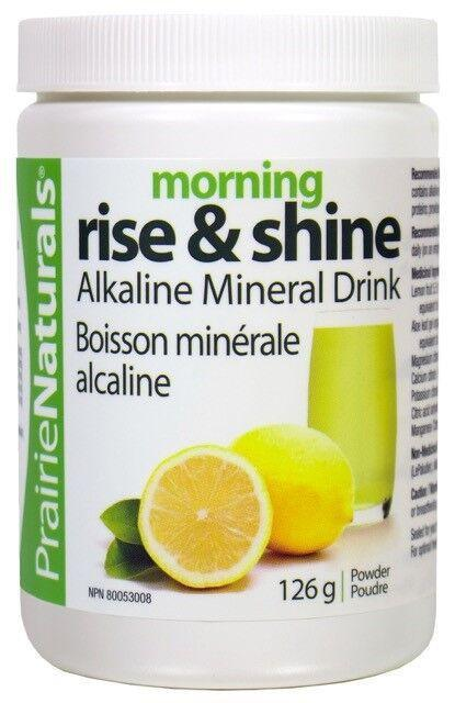 Supplements & Vitamins - Prairie Naturals - Morning Rise & Shine, 126g