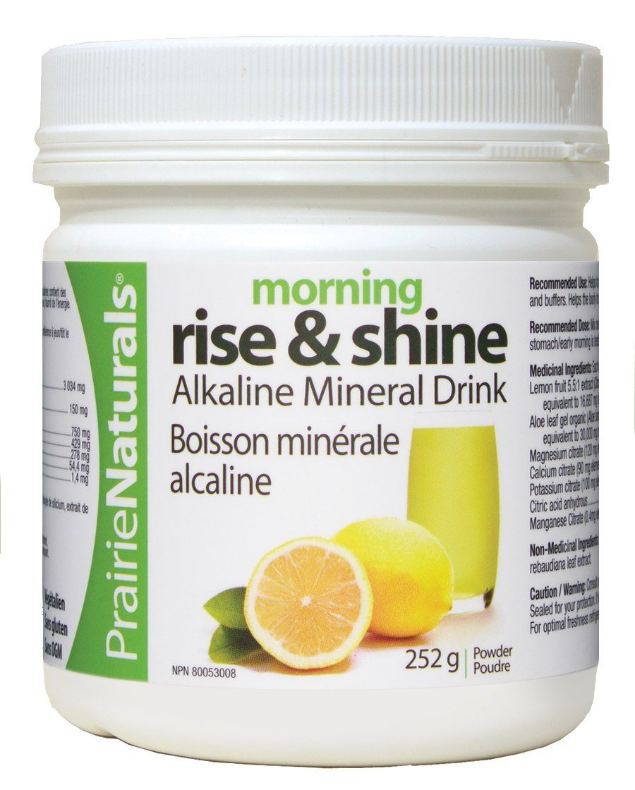 Supplements & Vitamins - Prairie Naturals - Morning Rise & Shine, 252g