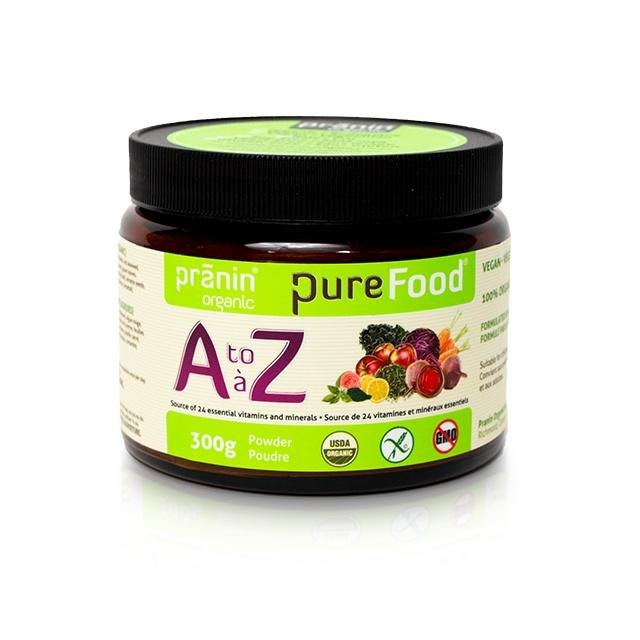 Supplements & Vitamins - Pranin - Purefood A To Z, 300g