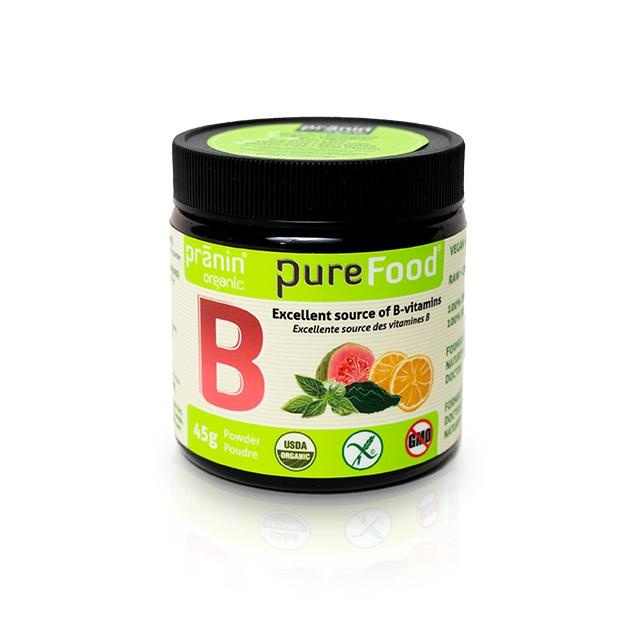 Supplements & Vitamins - Pranin - Purefood B, 45g