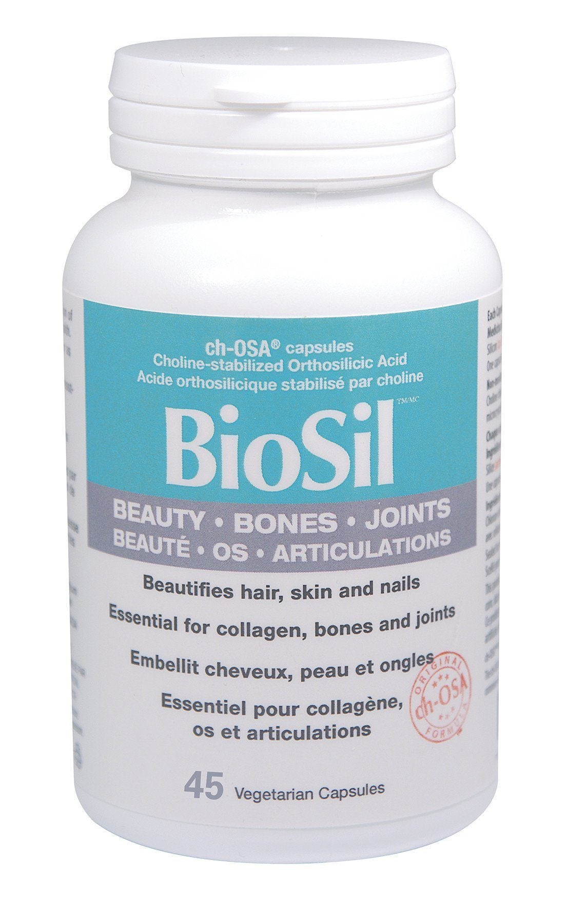 Supplements & Vitamins - Preferred Nutrition - BioSil, 45 Caps