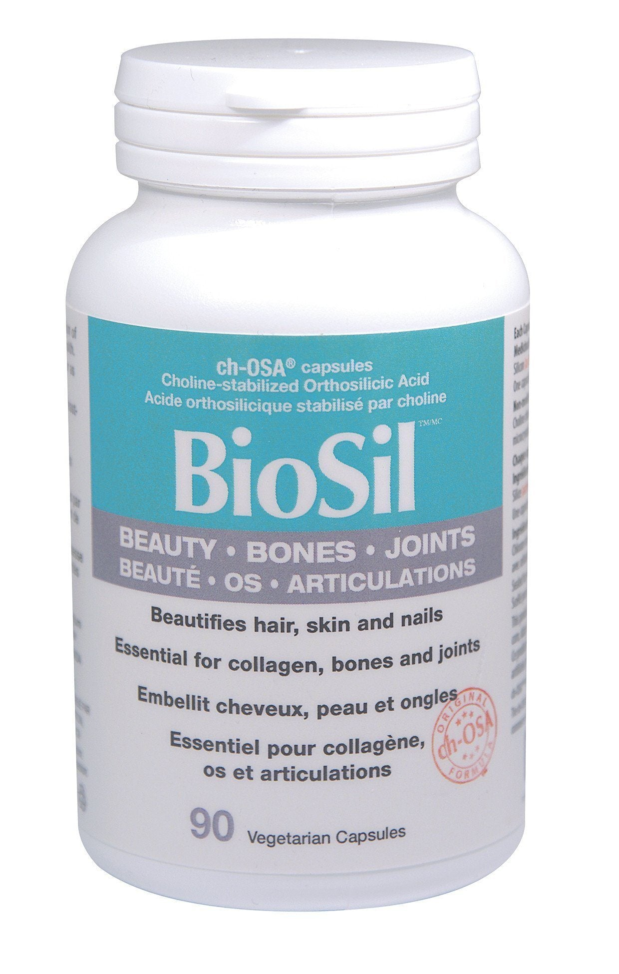 Supplements & Vitamins - Preferred Nutrition - BioSil, 90 Caps