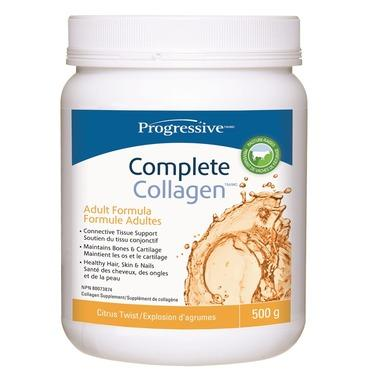 Supplements & Vitamins - Progressive - Complete Collagen Citrus - 500g