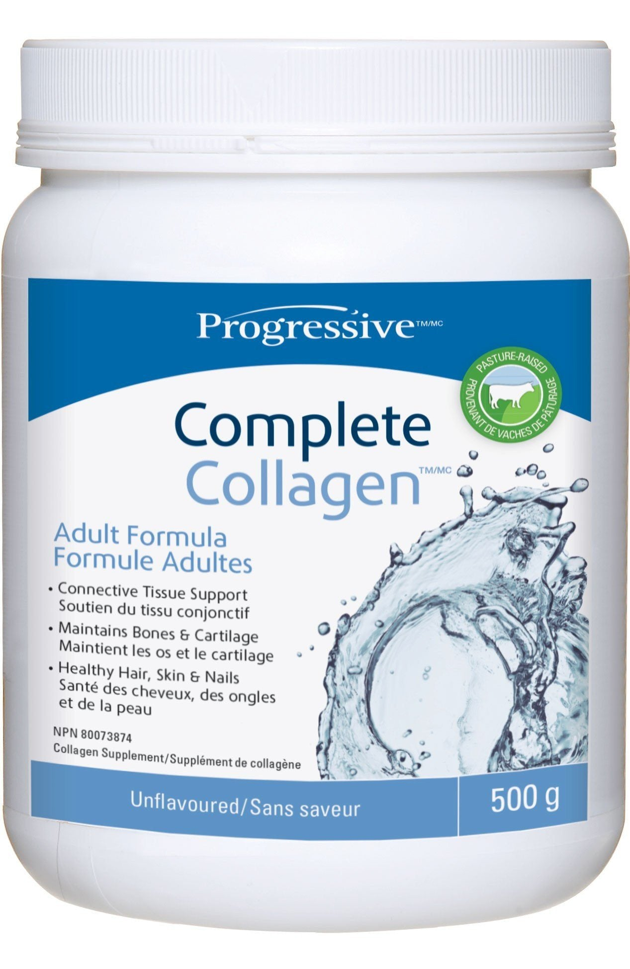 Supplements & Vitamins - Progressive - Complete Collagen Unflavored - 500g