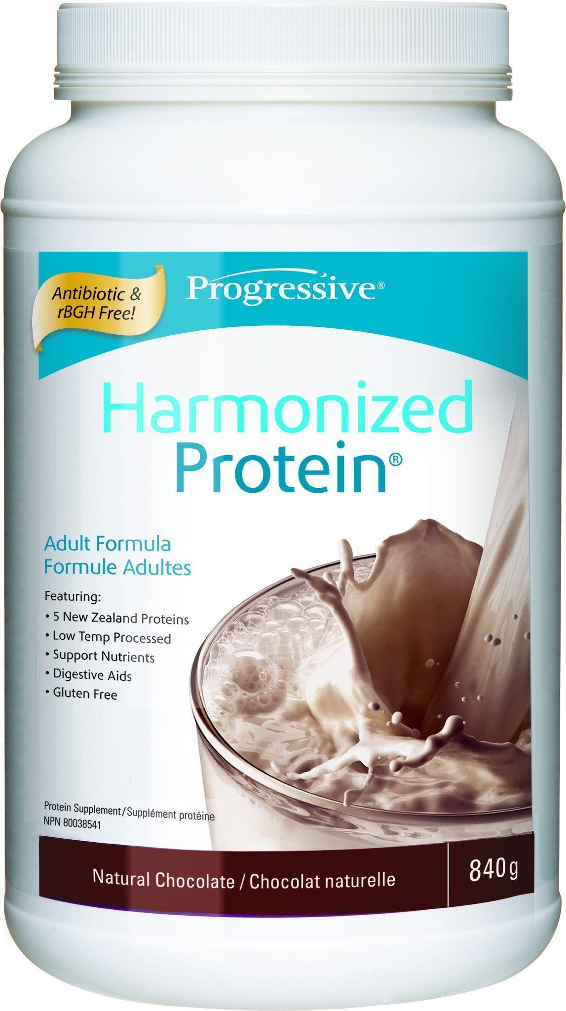 Supplements & Vitamins - Progressive - Harmonized Protein Chocolate, 840g