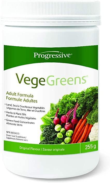 Supplements & Vitamins - Progressive - VegeGreens, 255g