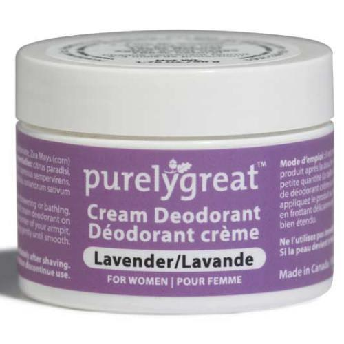 Supplements & Vitamins - Purelygreat - Women's Deodorant Lavender, 50g
