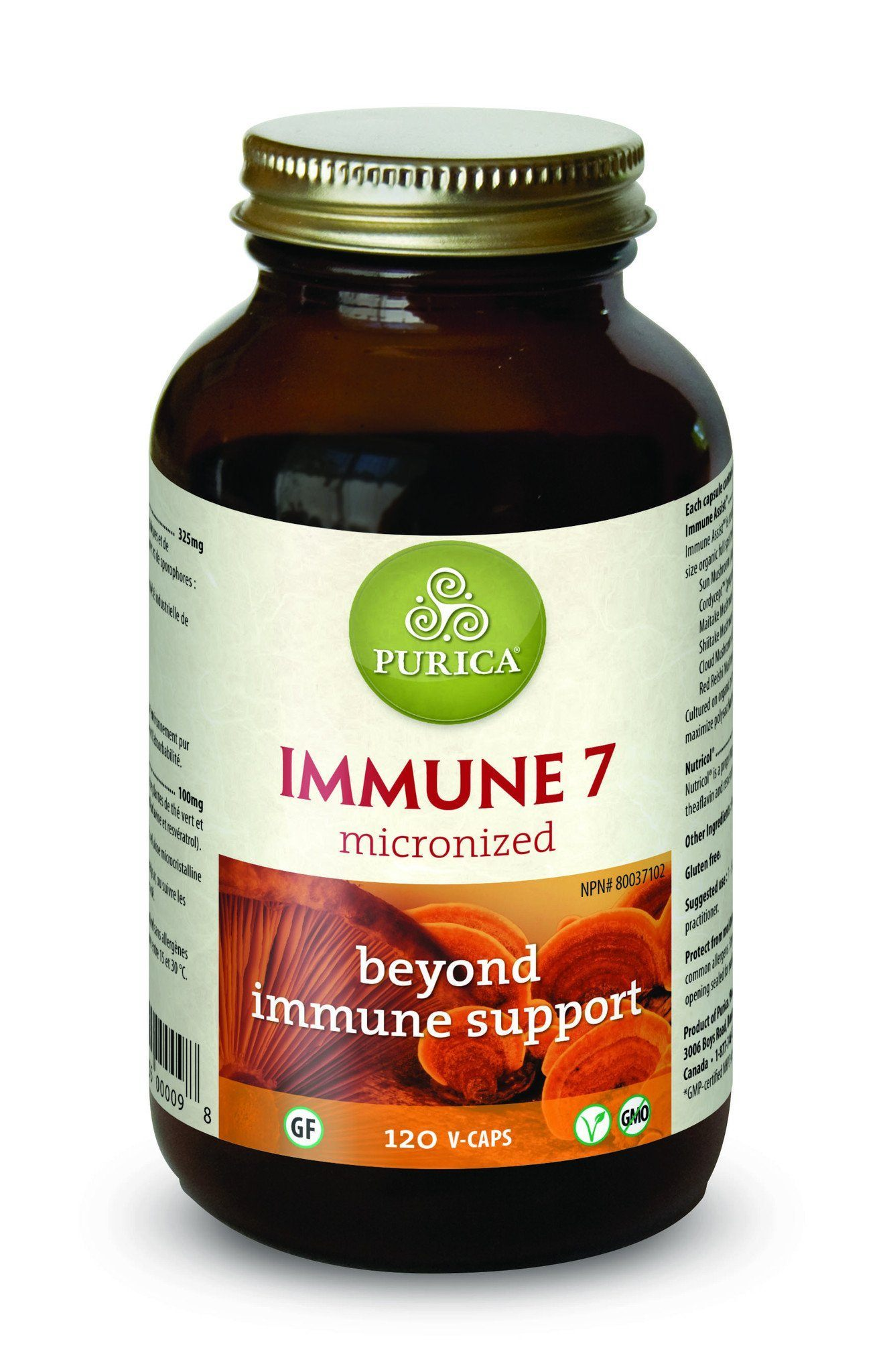 Supplements & Vitamins - Purica - Immune 7X, 120 Caps