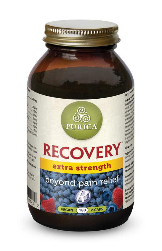 Supplements & Vitamins - Purica - Recovery Extra Strength, 180 Vcaps