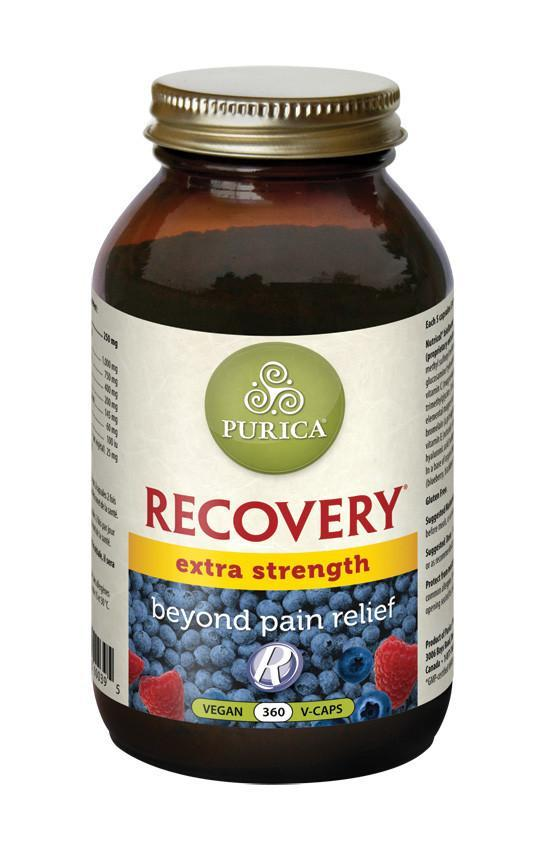 Supplements & Vitamins - Purica - Recovery Extra Strength, 360 Vcaps