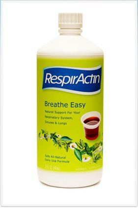 Supplements & Vitamins - RespirActin - Breath Easy, 32oz