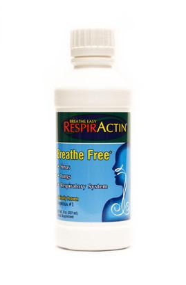 Supplements & Vitamins - RespirActin - Breath Easy, 8oz