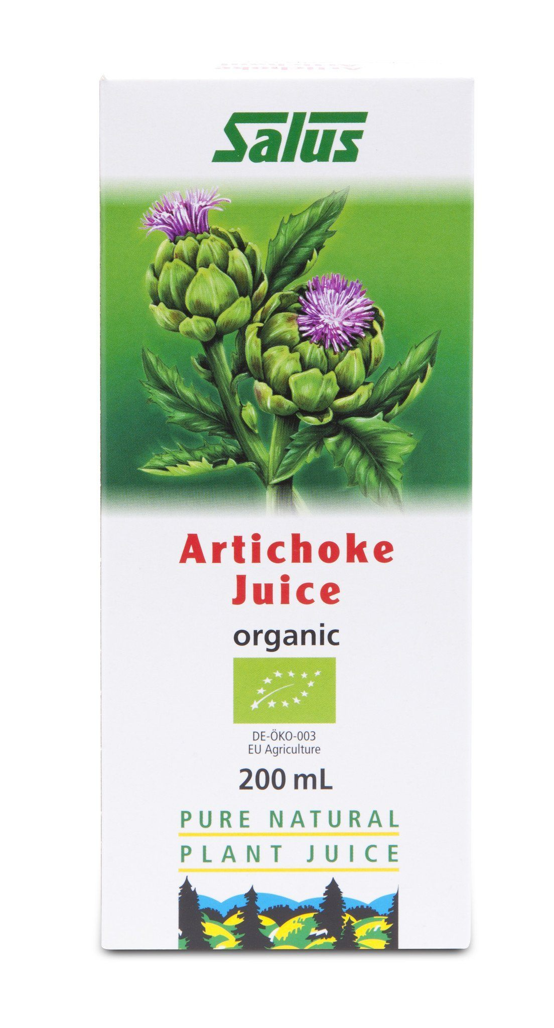 Supplements & Vitamins - Salus - Artichoke Juice, 200ml