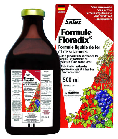 Supplements & Vitamins - Salus - Floradix Formula, 500ml