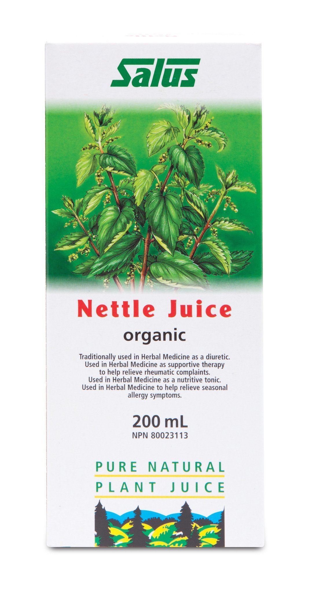 Supplements & Vitamins - Salus - Nettle Juice, 200ml