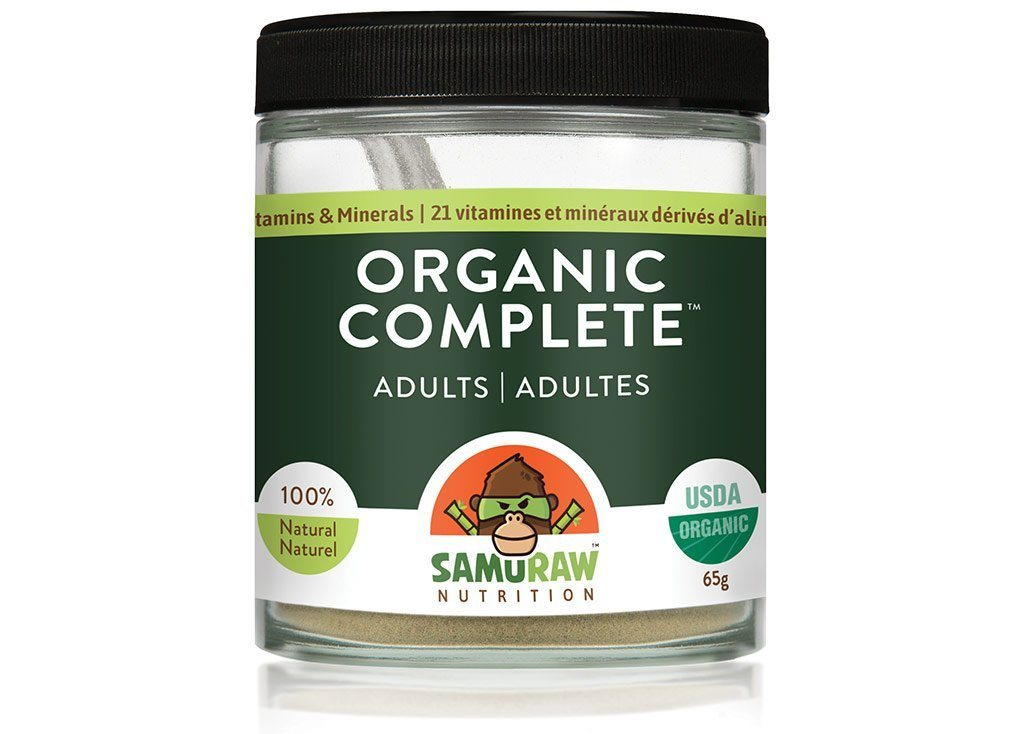 Supplements & Vitamins - Samuraw - Organic Complete Adult Multi Vitamin, 65g