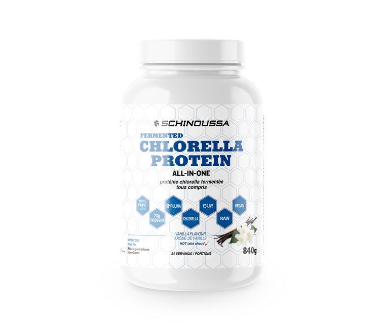 Supplements & Vitamins - Schinoussa - Fermented Chlorella Protein - Vanilla, 840g