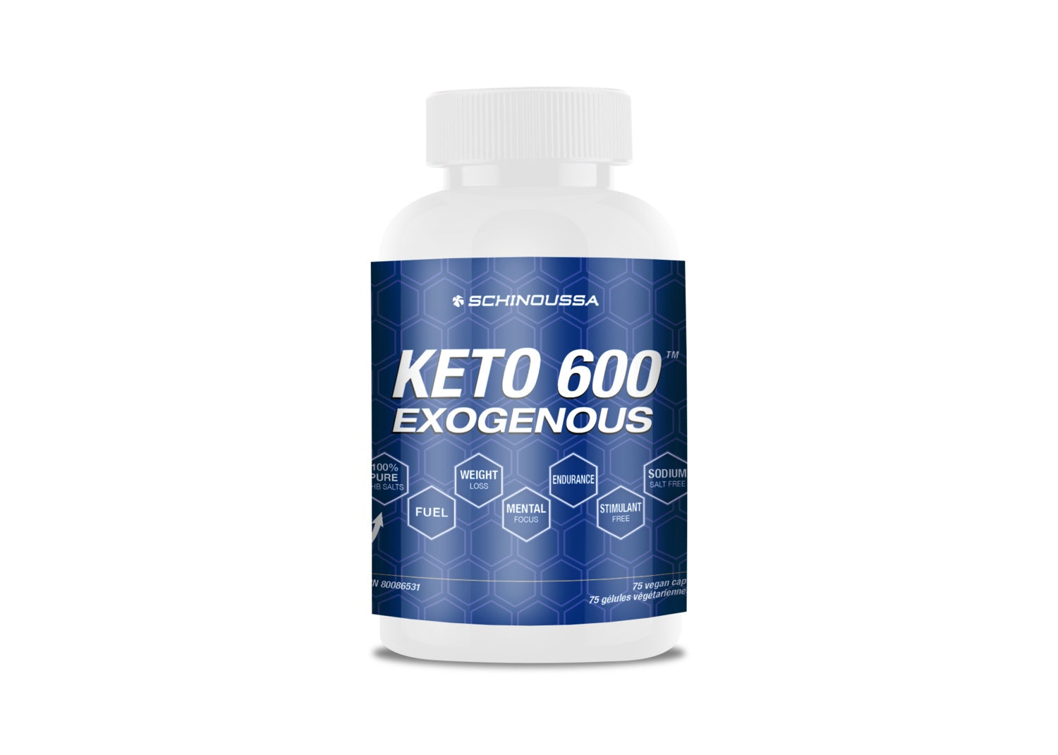 Supplements & Vitamins - Schinoussa - Keto 600, 75 VCAPS