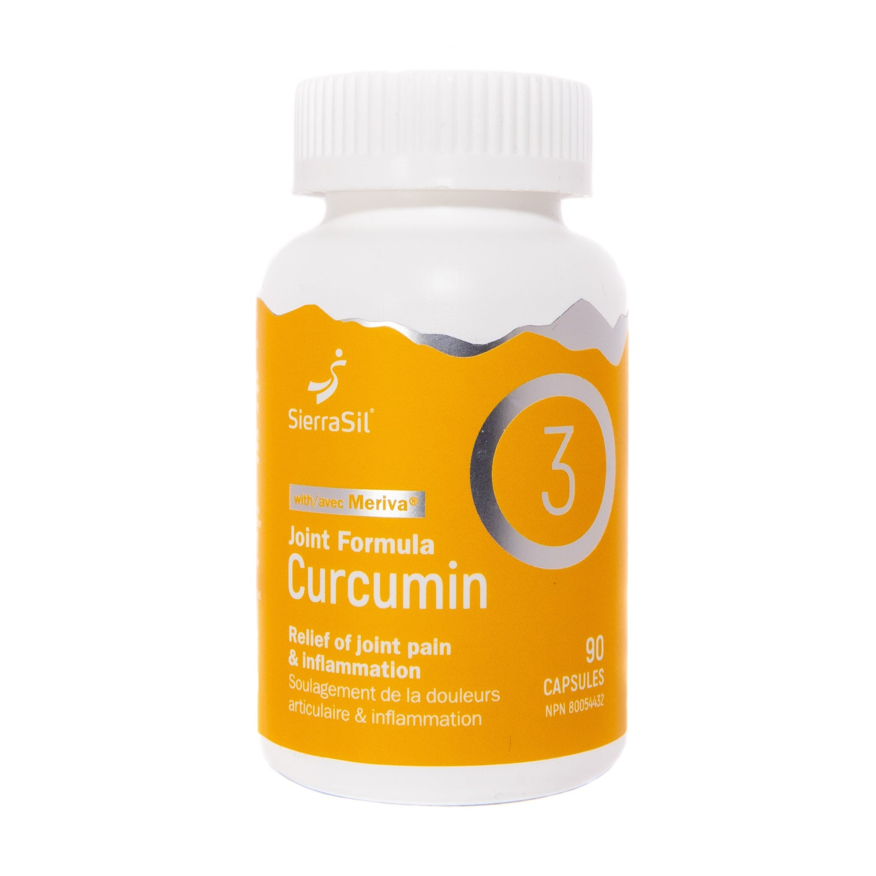 Supplements & Vitamins - Sierrasil Joint Formula Curcumin 90 Caps